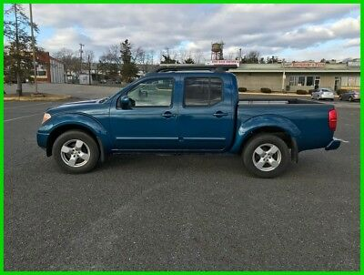 2005 Nissan Frontier Se 2005 Nissan Frontier Le Crew Cab  V6 24V Automatic 4Wd Pickup Truck