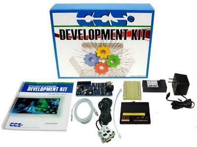 New Sealed Ccs Custom Computer Services Microchip Pic-18f8722 Development Kit
