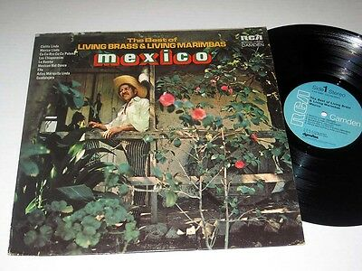 THE BEST OF THE LISING BRASS & LIVING MARIMBAS Mexico RCA