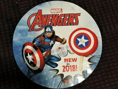 Ice Cream Truck Decal Stickers 23 Avengers