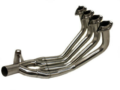 2009-2016 FZ6R XJ6 MJS Full System Stainless Race Muffler Exhaust Header NEW