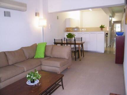 In GLEBE, a 3 Bedroom furnished Apartment, Great Location.