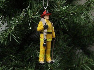 Firefighter, Fireman Christmas Ornament