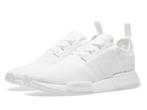 MENS ADIDAS ORIGINALS NMD R1  BOOST ALL WHITE US 10 AND US 10.5 Adelaide CBD Adelaide City Preview