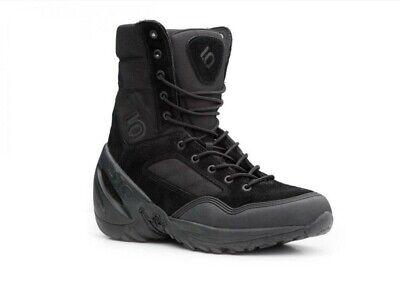 Five Ten 5.10 Black Phantom Stealth Tactical Desert Military High Boots Mens 8 Desert Stealth 8' Tactical Boot
