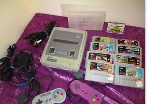 SUPER NINTENDO with 8 games 2 controllers Albany Albany Area Preview