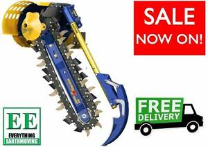 2016 Auger Torque MT900 Chain Trencher FREE DELIVERY Nambour Maroochydore Area Preview
