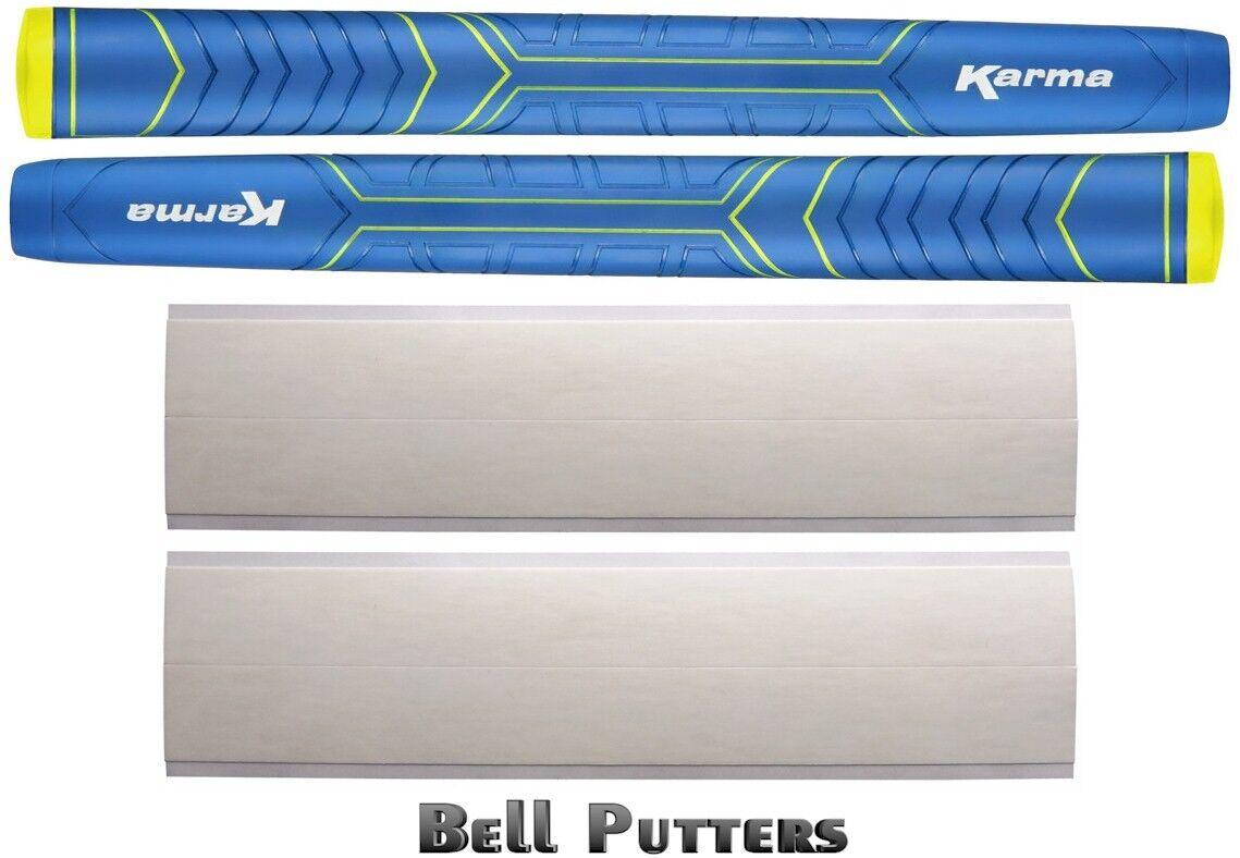 2 Karma Big Softy Blue Jumbo Counter Balance Pistol Putter G