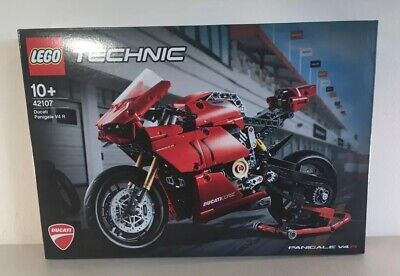 New Sealed LEGO Technic 42107 Ducati Panigale V4 R Motorcycle Age 10+ In Hand