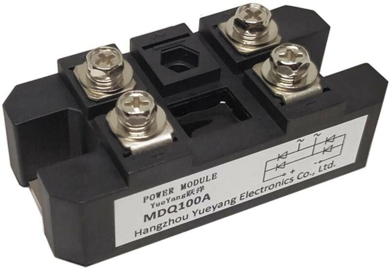 YueYang MDQ100A Single Phase Bridge Rectifier,Full Wave Bridge Rectifier ACto DC