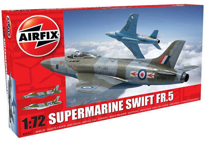 Airfix Supermarine Swift FR.5 1:72 Scale Plastic Model Airplane A04003