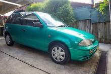 1998 Suzuki Swift Cino Hatchback Jewells Lake Macquarie Area Preview