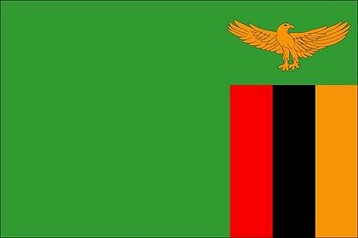 Home Decoration - ZAMBIA COUNTRY VINYL FLAG DECAL STICKER