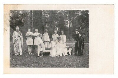 Greek Play Postcard - Crawfordsville, Indiana IN