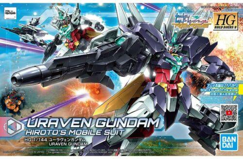 HG BF Gundam Build Divers RE:Rise 023 Uraven Gundam 1/144 model kit Bandai