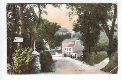 Garwick Village Isle Of Man Southport 7 Aug 1907 Hubert Oakdale St Peters Jersey image