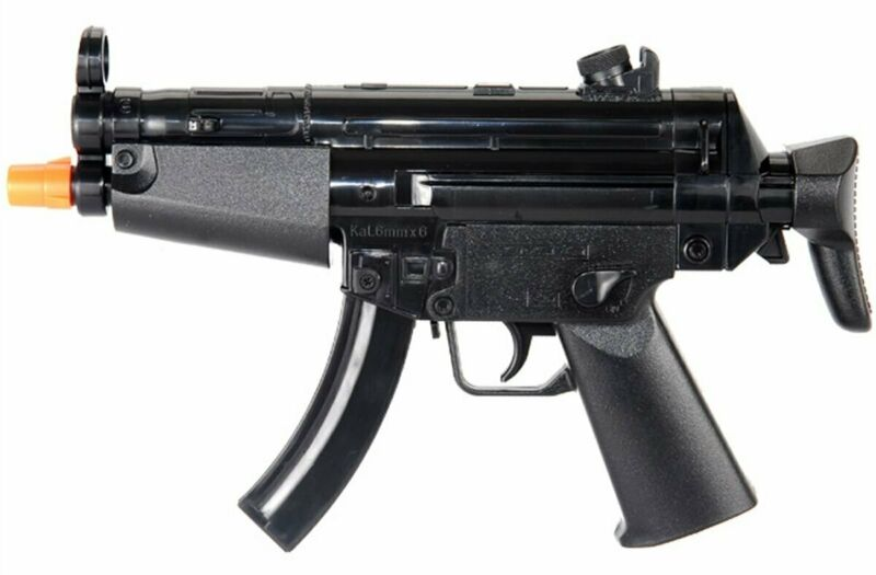 HFC Mini MP5 AEG Automatic SMG Electric Airsoft Pistol Full Auto Gun - HB-102