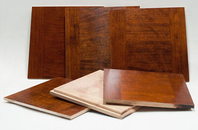 """Used, 1 Lens board 6-3/8""""Sq (162x162mm) for KORONA View 11x14"""" Camera, made of Cherry for sale  Chicago"""