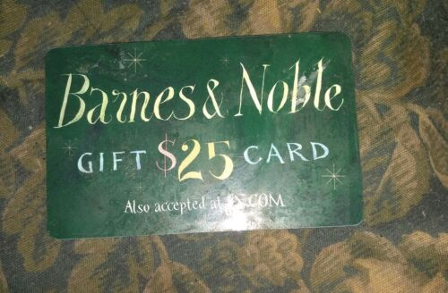 Barnes Noble Used Collectible Gift Card NO VALUE SV1603027 - $1.68