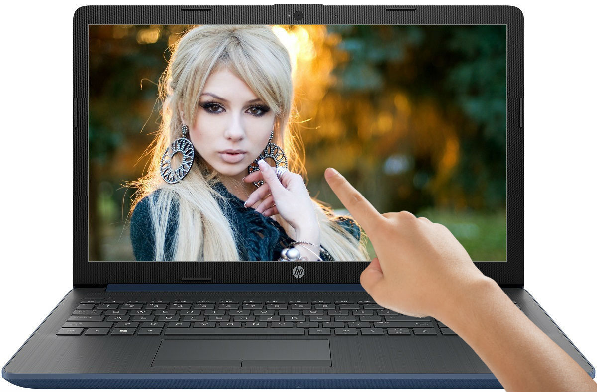HP 15.6 TouchScreen Intel Pentium 2.70GHz 8GB 128GB SSD Drive DVDRW Win10 Laptop
