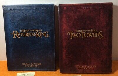 The Lord of the Rings Set Special Extended DVD Edition two towers return of king