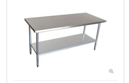 Stainless steal cake bench
