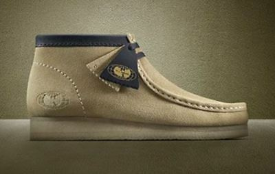Wu-Tang x Clarks Originals Wallabees Maple Boots Exclusive Limited Edition Mens ()