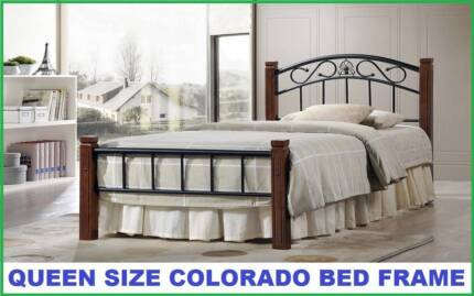 BRAND NEW Queen Size COLORADO Bed Frame - Delivered FREE!!