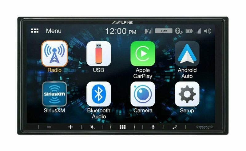 "Alpine iLX-W650, 7"" Double Din Digital Media Receivier, CarPlay / Android Auto"