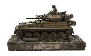 Scorpion-Reconnaissance-Vehicle-Cold-Cast-Bronze-Military-Statue-Sculpture