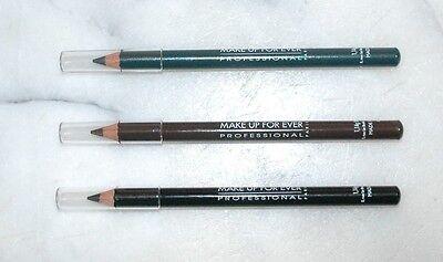 Make Up For Ever Kohl Pencil Full Size 9K Brown 4K Green 1K Black You Pick Color