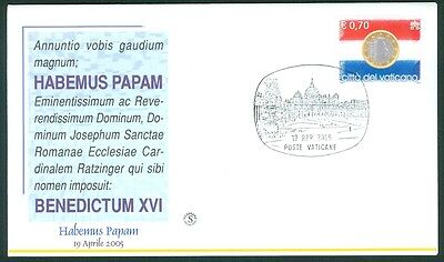 Vatican City Habemus Papam 2005 Cover
