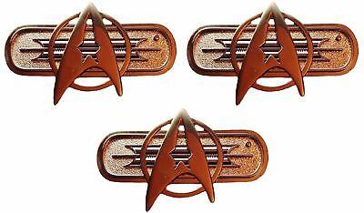 Star Trek Movie Federation Uniform Chest Insignia Deluxe 3