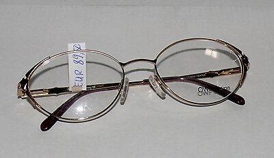Fielmann OWP Design 1631 Brille Brillen gestell Sonnenbrille Metall Gold 848080