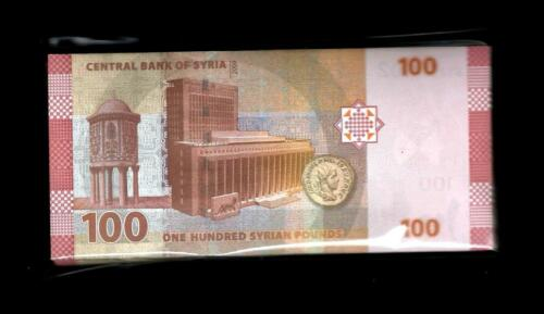 SYRIA - 100 POUNDS 2009 ISSUE GEM UNC 100 NOTES
