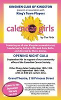 Calendar Girls at the Grand Theatre - September 9th - Fundraiser