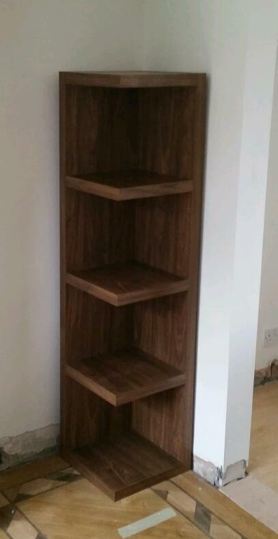 Two Next Corner Shelf Units Walnut Effect Finish will  : 86 from www.gumtree.com size 407 x 788 jpeg 22kB