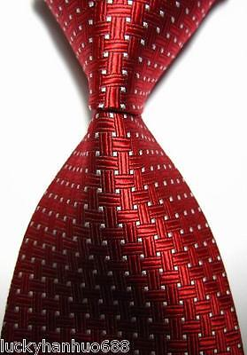 Men's ties New Classic Patterns Red
