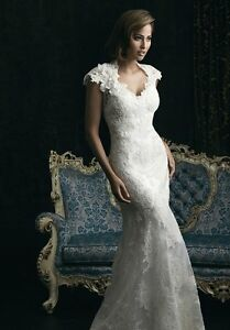 Allure 8764 Lace Wedding Dress