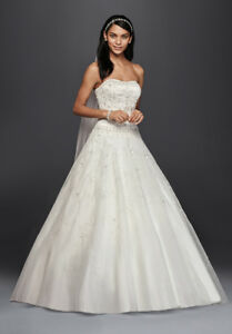 Gorgeous oleg Cassini Wedding Dress