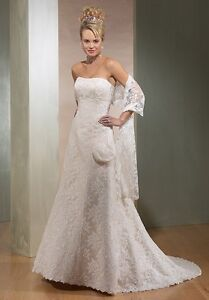 """Maggie Sottero """"Grace"""" strapless gown"""