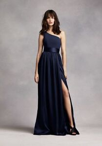 Vera Wang Midnight Blue Bridesmaid dress