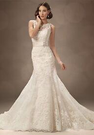 Sophia Tolli Wedding Dress Lavinia Y11322 - Size 10-12