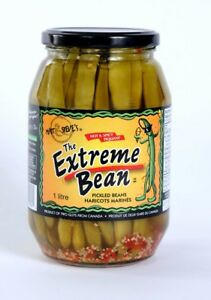 Case of Extreme Beans Extra Spicy (12x1L jars) $60