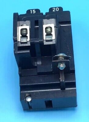 CUTLER HAMMER BD2020 CIRCUIT BREAKER PLUG-IN 20//20 AMP TWIN POLE 120VAC NEW