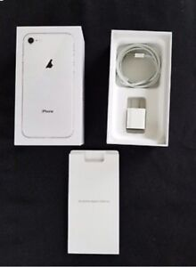 Apple iPhone 8 64GB Unlocked White Silver Guarantee