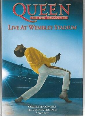 QUEEN LIVE AT WEMBLEY STADIUM 2 DVD SET - FREE POST UK