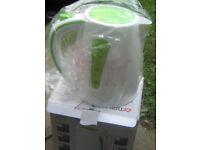 1000w caravan kettle. New in box, unwanted gift