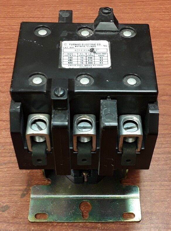 Furnas Electric Co. 42FE35A Contactor with D54772-1 Coil