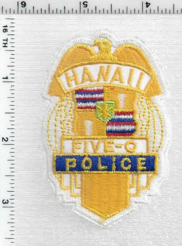 Hawaii 50 Police 1st Issue Cap/Hat Patch